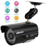 "1/3"" CMOS 1200TVL HD CCTV Camera Waterproof Outdoor 36LED IR Cut Night Vision US"