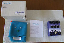 Oohlala Ooh la la Ultraviolet Fuzz Pedal #48 Open Box, w/manual and puppet/bag