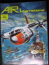 AVIATION  AIR INTERNATIONAL DEC 1976  SEA SEARCHER RAVITAILLEUR MONOCOUPE STORCH