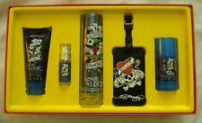 ED HARDY LOVE AND LUCK MEN EAU DE TOILETTE 5-PIECE GIFT SET