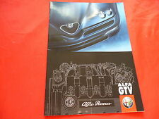 ALFA ROMEO GTV 2.0 T.Spark 16V V6 TB 3.0 V6 24V Prospekt von 1999