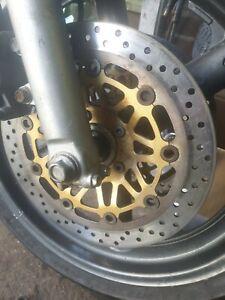 Suzuki gsx 750 inazuma 97-02 gsx750 f front and back brake Discs rotors 300mm