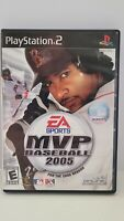 MVP Baseball 2005 - Playstation 2 PS2 Game - Complete with Manual & Memory Card