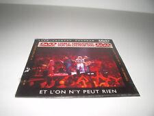 DVD SINGLE CD single Jean Jacques Goldman Et l'on n'y peut rien 3 titres NEUF