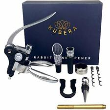New listing Wine Bottle Opener Corkscrew Set, [2021 Upgraded] with Wine Accessories Gift