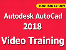 Learn Autodesk AutoCad 2018 Video Training Tutorials CBT - 13+ Hours