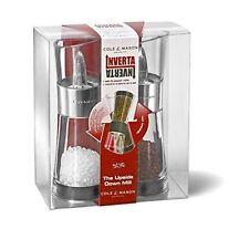 Cole & Mason Inverta Flip 180 Chrome Salt and Pepper Mill Set 154mm Grinder Gift