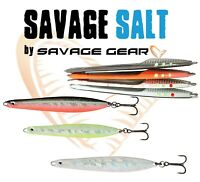 Savage Gear SEEKER ISP Spoon Lure Sea Fishing Bait Bass Pollock Cod Full Range