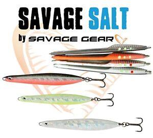 NEW Savage Gear SEEKER ISP Spoon Lure Sea Fishing Bait Bass Fluorescent Points