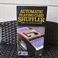 CARDINAL AUTOMATIC CARD SHUFFLER - SHUFFLES 1 OR 2 DECKS