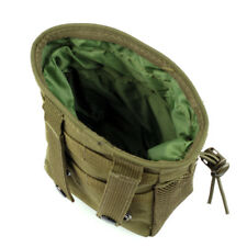 Set Two Military Hunting Molle Pouch Magazine Ammo Dump Drop Bag Small