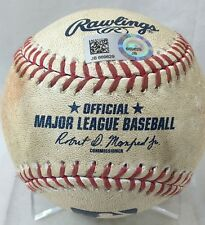 MAIKEL FRANCO 2ND CAREER TRIPLE HIT #156 GAME-USED MLB BASEBALL PHILLIES 2016