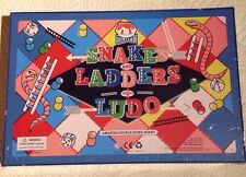 Snakes And Ladders + Lido Double Sided Board Game