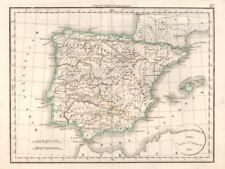 'Hispaniae Antiquae'. DELAMARCHE. Ancient Spain & Portugal. Baetica 1830 map