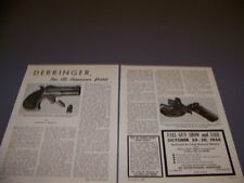VINTAGE..REMMINGTON DOUBLE DERRINGER PISTOL..PHOTOS/HISTORY...RARE! (779N)
