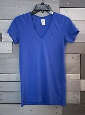 Victoria's Secret Pink Blue T Shirt Size Small Short Sleeve