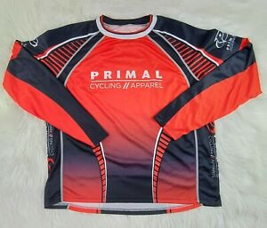 Primal Men's Cyling apparel  pullover  SZ(2XL) SHIPPED PROMPTLY