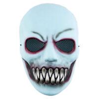 Geister Maske Tod Dämon Grusel Horror Phantom Zähne Halloween Karneval Zubehör