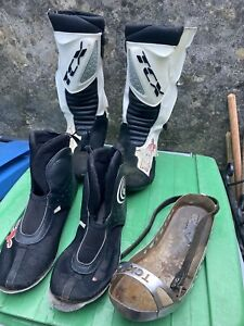 Tcx Speedway/grasstrack Boots And Steel Shoe.