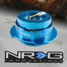NRG New Blue Ball Lock 6-Hole Steering Wheel Gen 2.5 Quick Release Adapter Kit