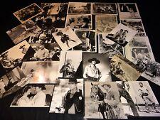 western  rare lot 64 photos presse argentique cinema 50.60.70