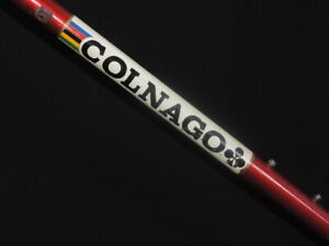 NICE EARLY VINTAGE COLNAGO SUPER SARONNI RED FRAME SET - 56 C/C - GREAT PROJECT