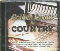 GOLDEN GREATS OF COUNTRY - VARIOUS ARTISTS - CD