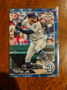 2019 Topps Holiday Fernando Tatis Jr. Blue RC #/150