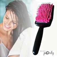Quick Drying Hair Brush Comb Microfiber Towel Absorbent Care Dry Wet Hair Magic
