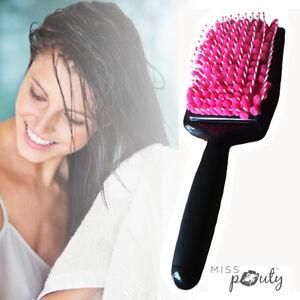 Séchage Rapide Cheveux Peigne Brosse Microfibre Serviette Absorbant Soin Sec Wet
