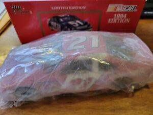 #21 Cheerwine Morgan Shepherd 1994 Racing Champions 1:24 Diecast Bank 1 of 5000