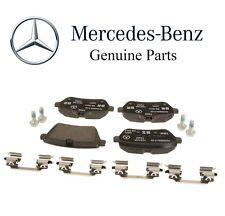 Mercedes W217 W222 S550 V8 4.6L W222 S550e 3.0L V6 Rear Brake Pad Set Genuine