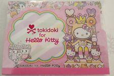 Sanrio Hello Kitty Notepad Tokidoki Tiered Pink