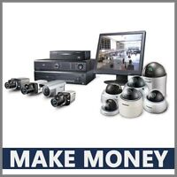 CCTV CAMERA Website Earn £1,172.00  A SALE|FREE Domain|FREE Hosting|FREE Traffic