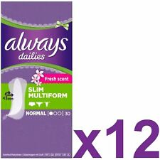 Always Dailies Panty Liners Normal Slim Flexi Style Scented Multiform - 360 Pack