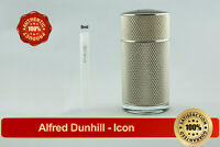 Alfred Dunhill Icon EDP 5ml Decant Sample Atomizer Vial Spray AUTHENTIC