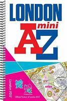 London 2012 Mini Street Atlas Spiral Paperback Geographers' A-Z Map Company