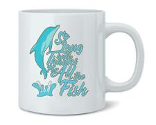 So Long And Thanks For All The Fish Coffee Mug Tea Cup 12 oz