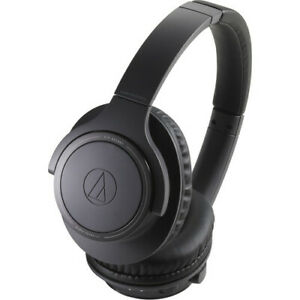 Audio-Technica ATH-SR30BTBK-RB Bluetooth Wireless Headphones Black - Refurbished