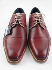 DANIEL HECHTER 812-22801 Negocios Zapato en Rojo Cuero Talla 42