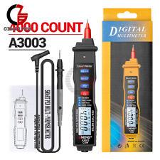 Digital Multimeter Pen Meter With Acdc Voltage Resistance Capacitance Tester