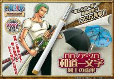 Colección Premium De Una Pieza Roronoa Zoro Samurai Katana paraguas Wado Ichimonji