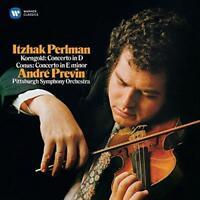 Itzhak Perlman - Korngold And Conus: Violin Concertos (NEW CD)