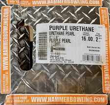 Rare NIB Hammer Purple Urethane PEARL Bowling Ball