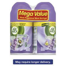 Air Wick Freshmatic Ultra Spray Refill Lavender/Chamomile Aerosol 6.17 oz 2/Pack