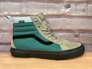 Vans Sk8-Hi Gore-tex All Weather MTE Ultracush Green Brown Shoes Men's Size 9
