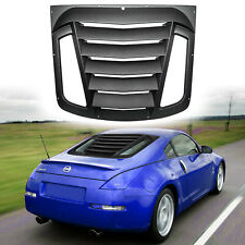 Rear Window Louvers Sun Shade Installation Accessories For Nissan 350Z 2003-2008