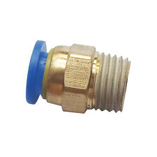 """5pcs 8 mm Tube Push in Fitting to 1/4"""" BSPT Male Air Pneumatic Connector"""