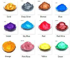Sparkle MICA SET 0f 12 COLORS. Best sparkling metallic pigments by Wizart Colors