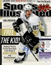 Sidney Crosby Signed 11x14 Photo w/ JSA COA #P17003 Pittsburgh Penguins